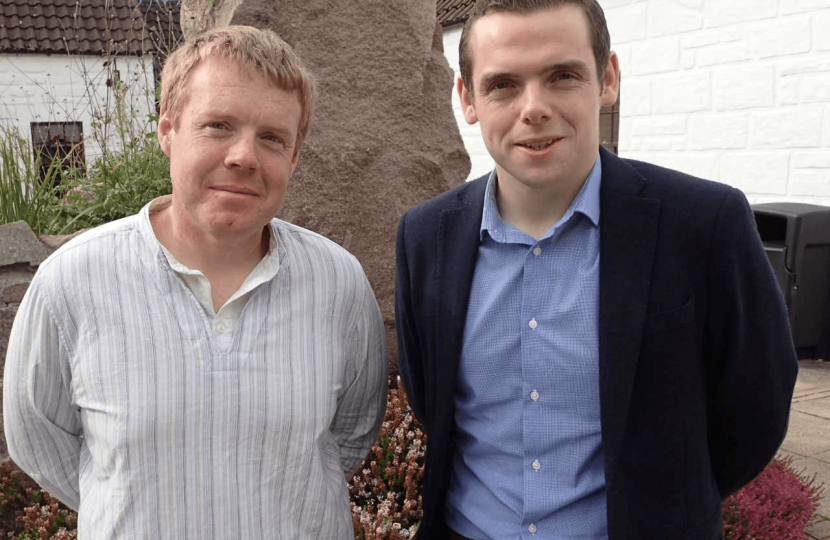 Douglas Ross MP and Cllr Tim Eagle