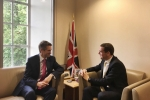Douglas Ross MP with the Secretary of State for Defence
